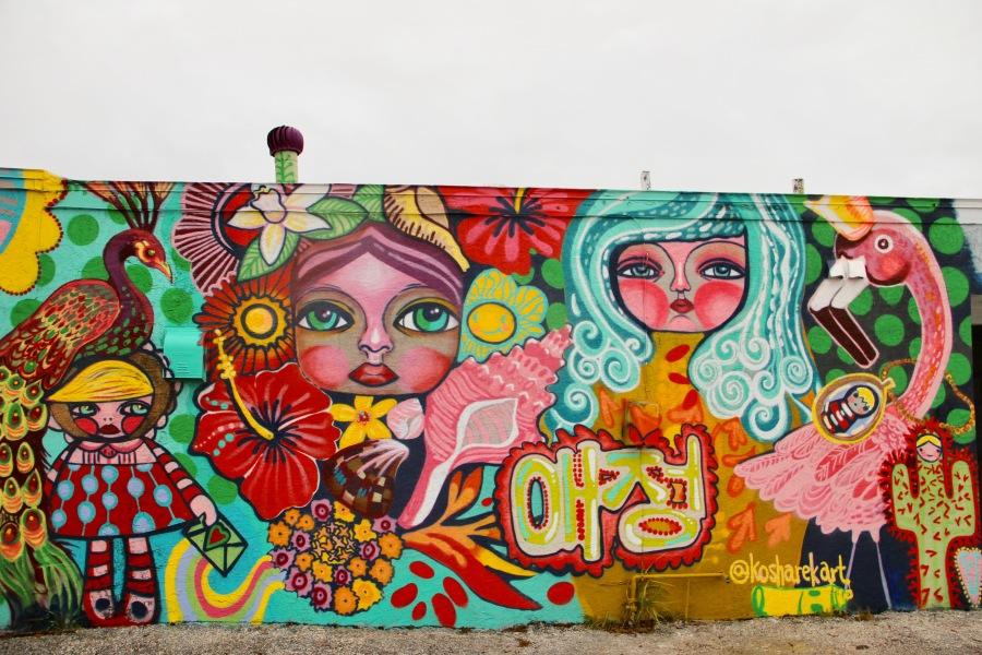 Freestyle street art